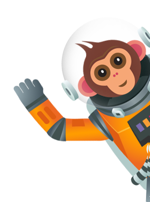 Code Monkey saying Hi!