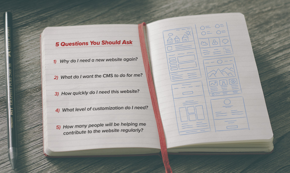 5 Questions You Should Ask Before Figuring Out Your New Website's Platform