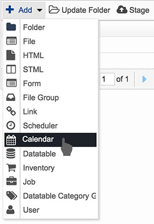 Creating an Event Module with Solodev   Solodev