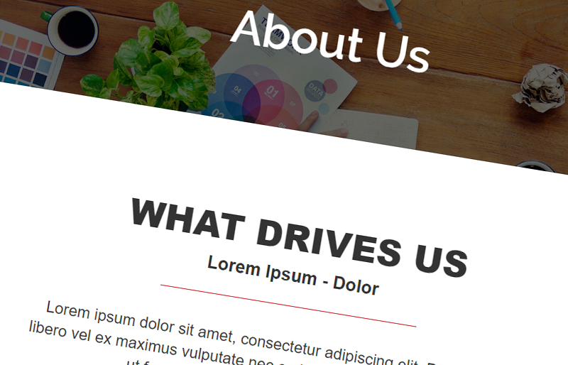 Designing your Website's About Us Page