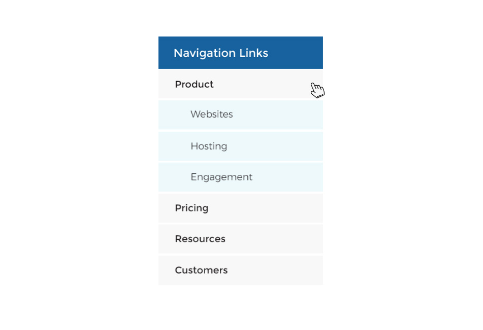 How to Create an Expandable Sidebar Navigation Links