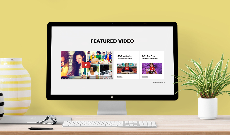 Designing a Featured Video Section for Your Website