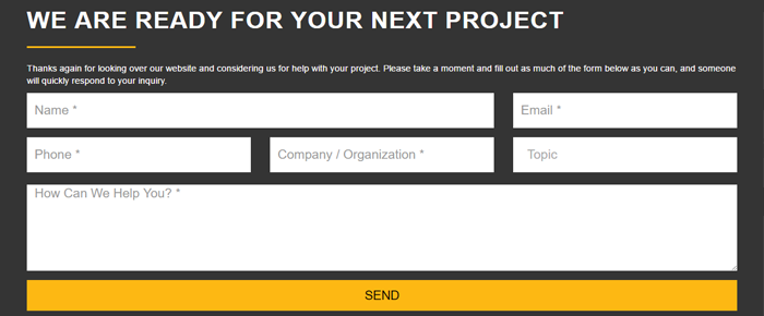 Convert More Website Visitors with Footer Forms | Solodev