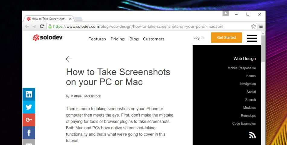 How to Take Screenshots on your PC or Mac